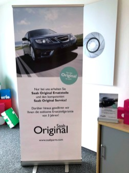 Novo Saab roll-up da Orio