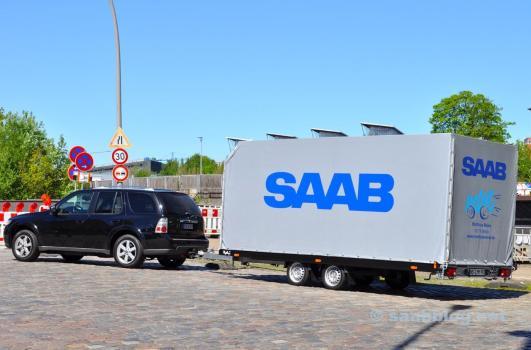 Saab-team van Saab Service Tit
