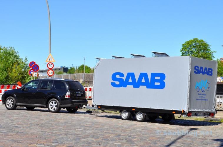 Saab Gespann von Saab Service Meise