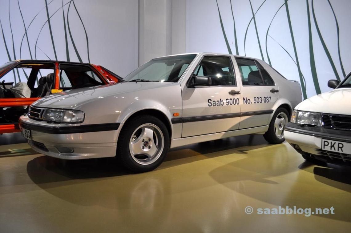 De laatste Saab 9000 in het museum