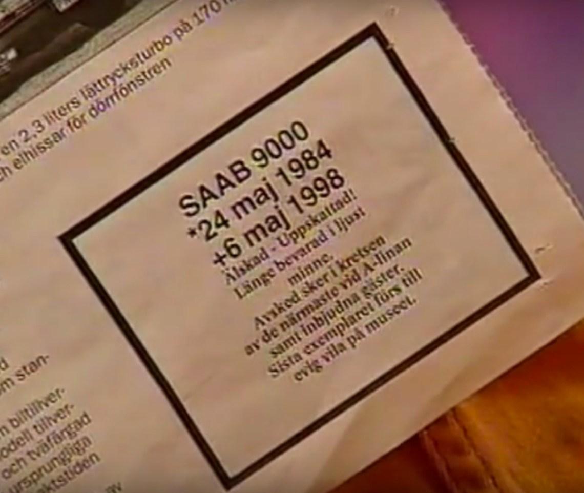 Geliefd, gewaardeerd. Death-bericht 6. Mei 1998.