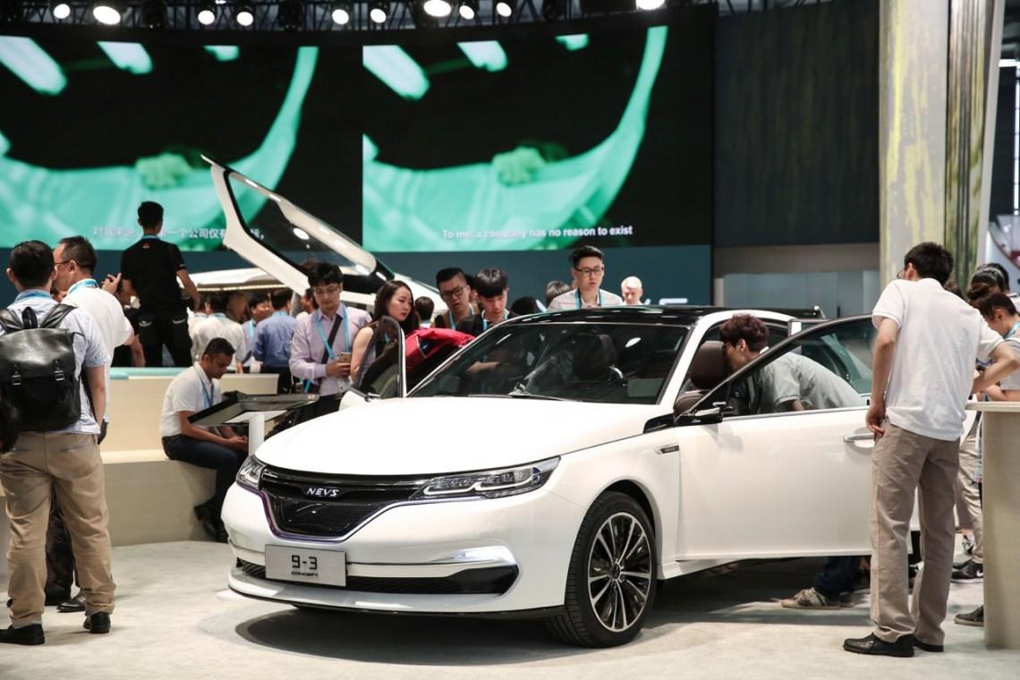 NEVS 9-3 Sedan Concept CES AZIË 2017