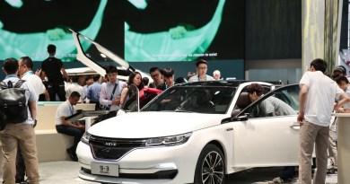 NEVS 9-3 Sedan Concept CES ASIA 2017