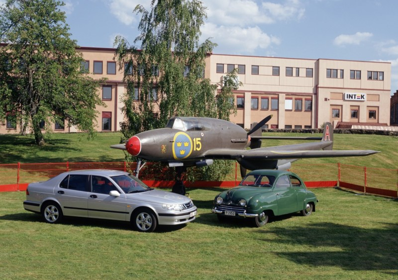 Tradition: Saab 21, Saab 92 och 9-5.