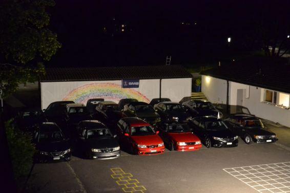 Das Saab Autokino gibt es nur im Tösstal