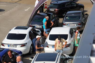 Escenas de Saab en Kiel