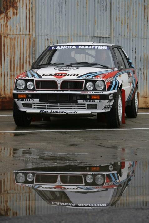 Lancia Delta Integrals. Un ganador de Monte!