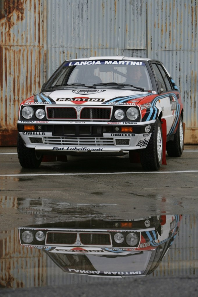 Lancia Delta Integrals. Um vencedor do Monte!