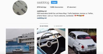 Saab Instagram Action