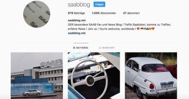 Saab Instagram Ação