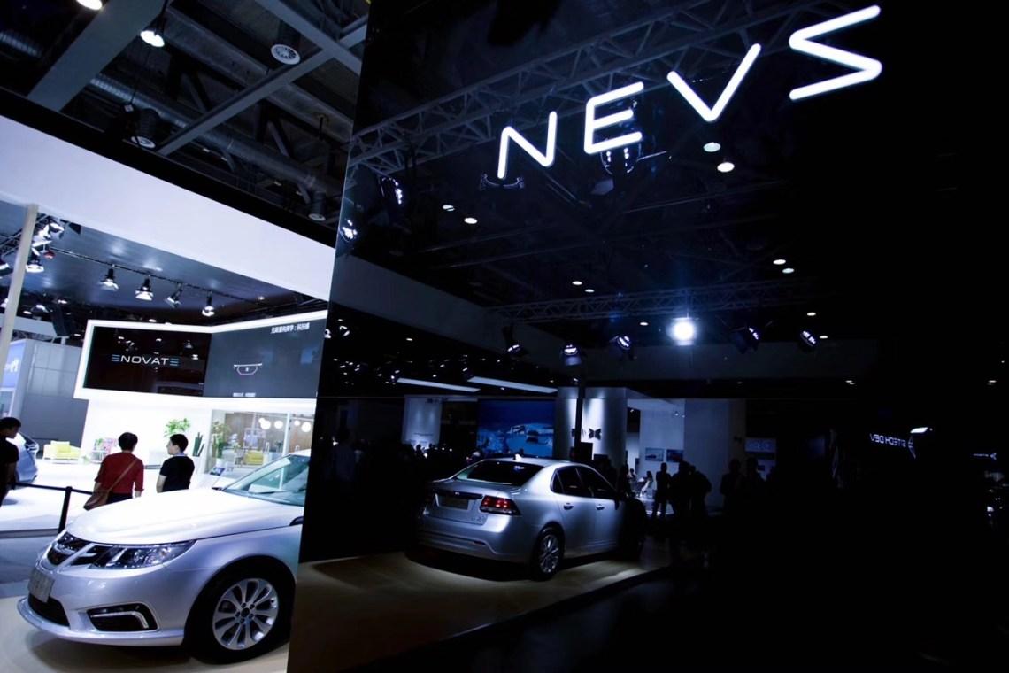NEVS 9-3 EV in Hangzhou