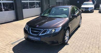 The 3 (presumably) last Saab new cars
