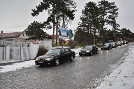 Chegada do grupo checo Saab