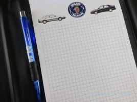 Esclusivo blocco Saab: vari motivi si alternano.