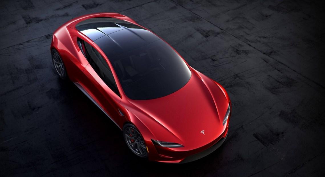 Tesla Roadster 2020. Picture: Tesla