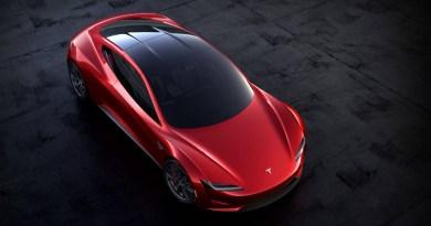 Tesla Roadster 2020. Imagen: Tesla