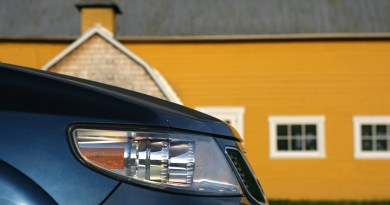 Saab dateert van september 2019. Ons motief is een 2006er Saab 9-7X