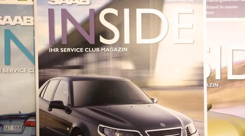 Saab Inside Number 11 идет!