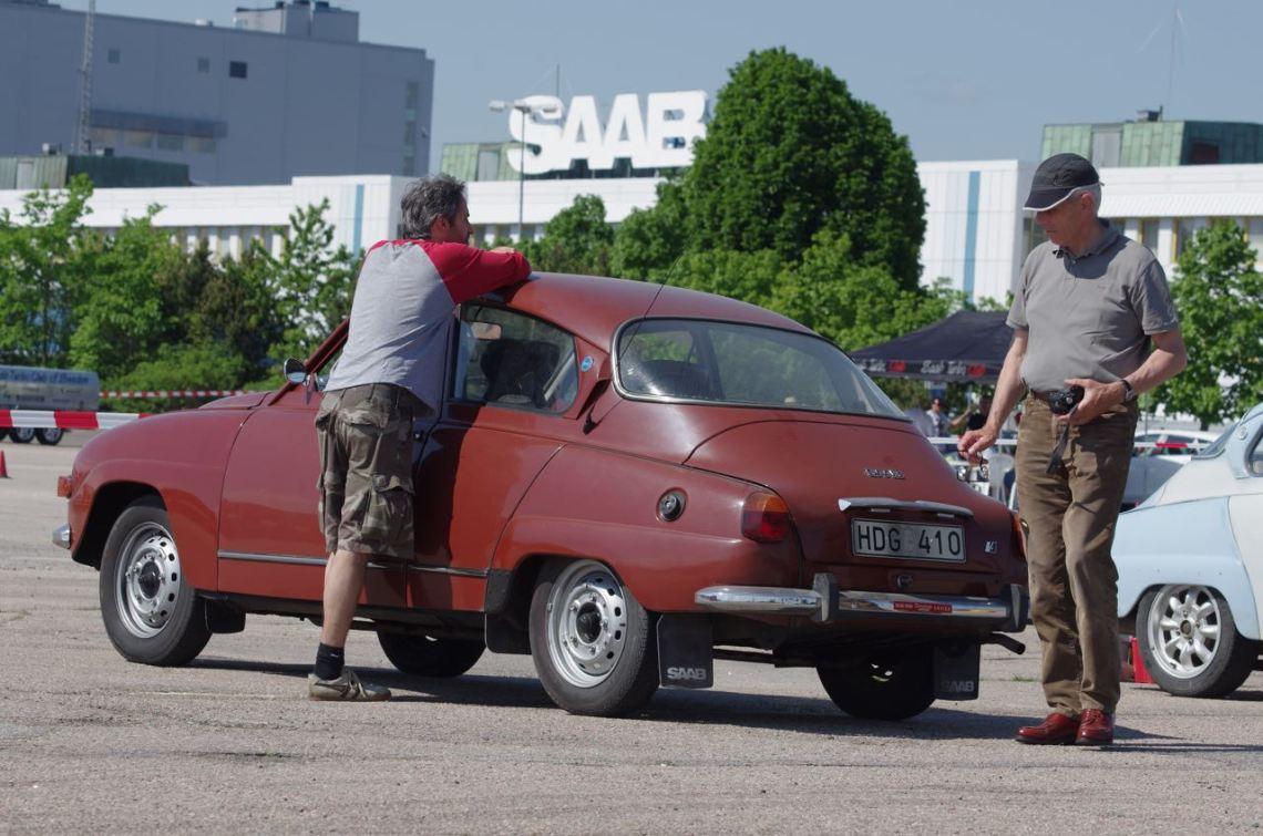 Saab dateert oktober 2019