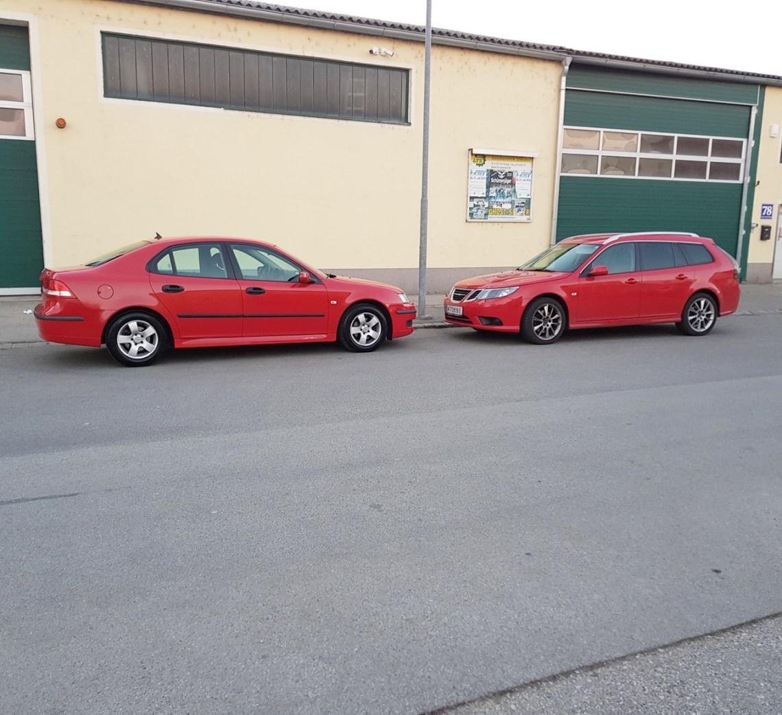 Vivendo com Saab. Ambos Saab 9-3