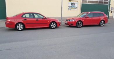 Viviendo con Saab. Ambos Saab 9-3
