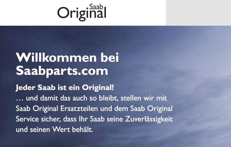 Orio. The home of Saab Original