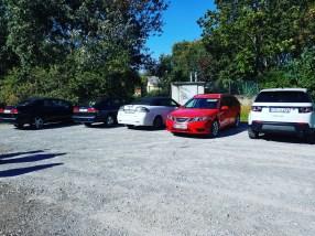 En natuurlijk: Saab-ontmoeting!
