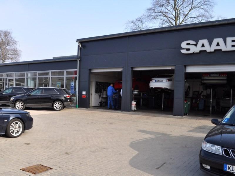 Saab Werkstätten im Umbruch