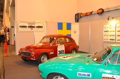 O Volvo Club mostra presença.