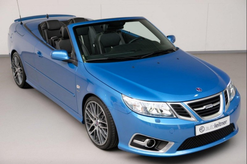 Saab 9-3 Griffin Aero Sky Blue Edition
