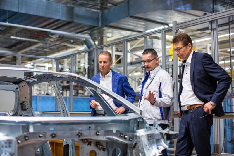 Pre-production VW ID.3 in Zwickau