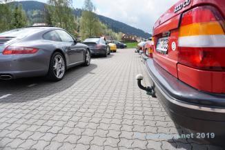 Porsche trifft auf Saab