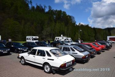 Saab meeting in the Harz
