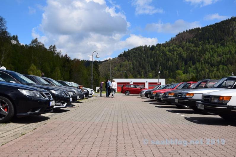 La stagione inizia con Saab Parade