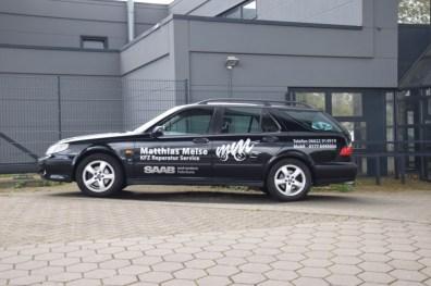 Saab Service Meise mit weiter Anfahrt!