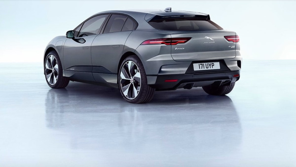 With Saab genes. The Jaguar I Pace