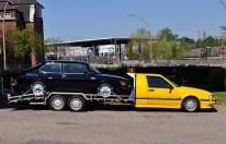 Un'altra rarità. Carro attrezzi Saab 9000 all'incontro 2016