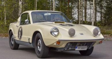 Saab Sonett II. Sportwagen mit 2 Takten