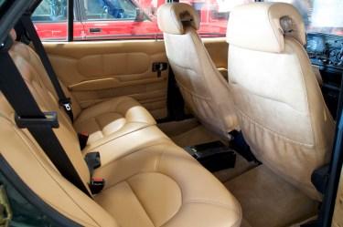 Der Innenraum: Luxus pur!