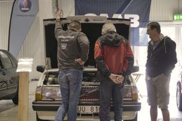 Plongée sous capot Volvo