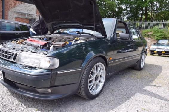 Saab 9000 på Saab lördag