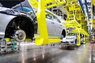 Unverkennbar mit Saab Genen, das NEVS Elektroauto