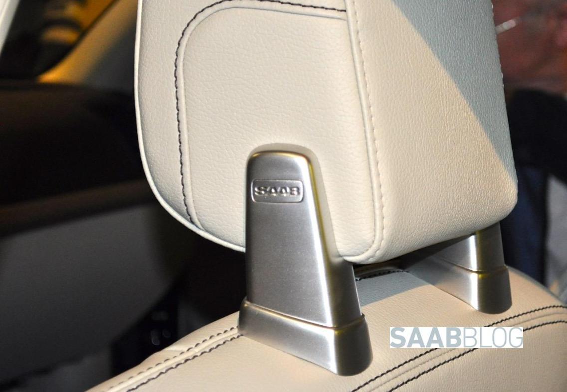 Ernsthaft, das ist ein Volvo Sitz mit Saab Logo