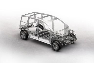 Ram för aluminiumutrymme