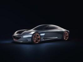 Vision d'une voiture de sport électrique par Sasha Selipanov