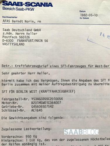 Division PKW tillkännager en SFT för Berlin-Tegel