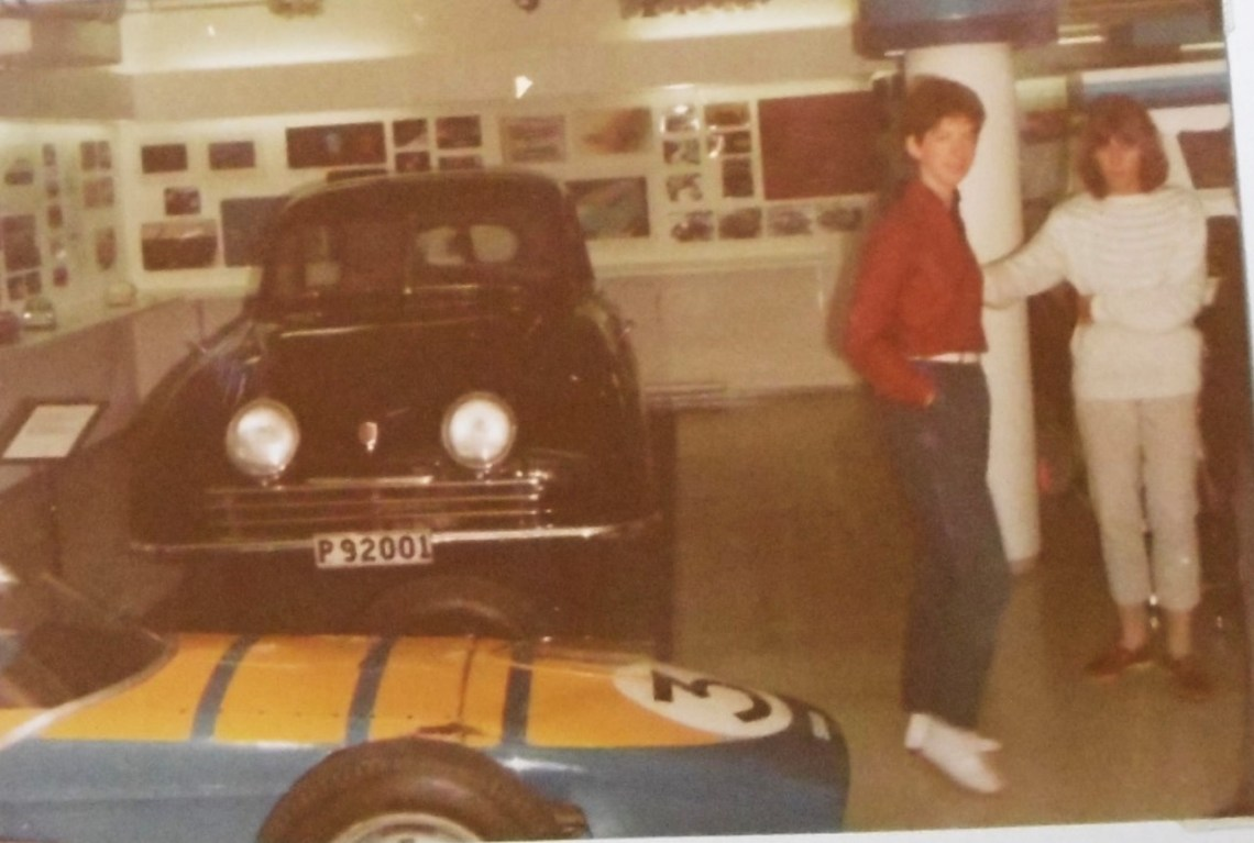 De originele Saab in het museum
