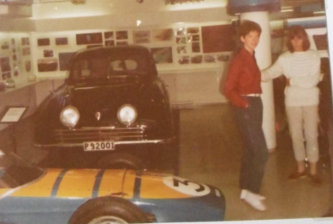 The original Saab in the museum