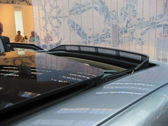 El techo de cristal Saab más grande que existe.