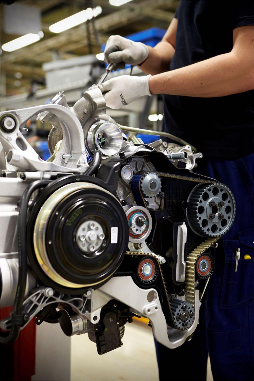 Produzione Volvo Brennenner a Skövde